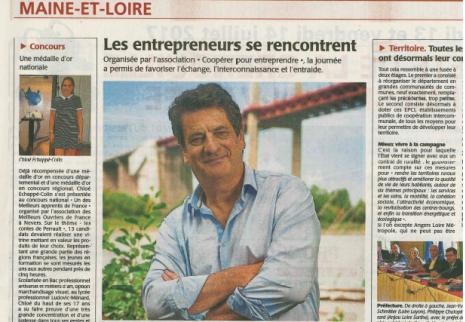 article de presse Dominique Babilotte_a la une