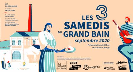 Les samedis du Grand Bain, en septembre 2020