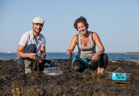 Julie Hennenfent et Vincent Leroux, d'Échos nature (l'Ouvre-Boîtes 44)